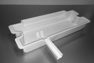 Bac récuperateur thermoformage et détourage
