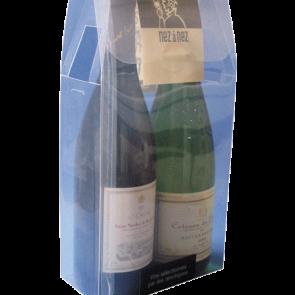 Etuis transparent thermoformé pour bouteilles