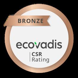 médaille de bronze ecovadis