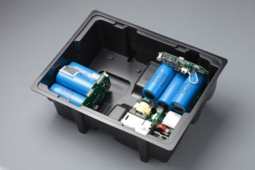 Bac pour composants et sous-ensembles montés ESD